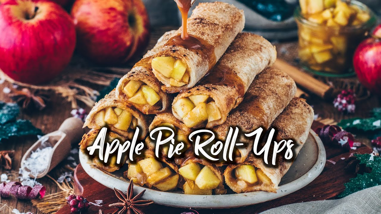 Apple Pie Roll-Ups (Baked Vegan French Toast) * Recipe