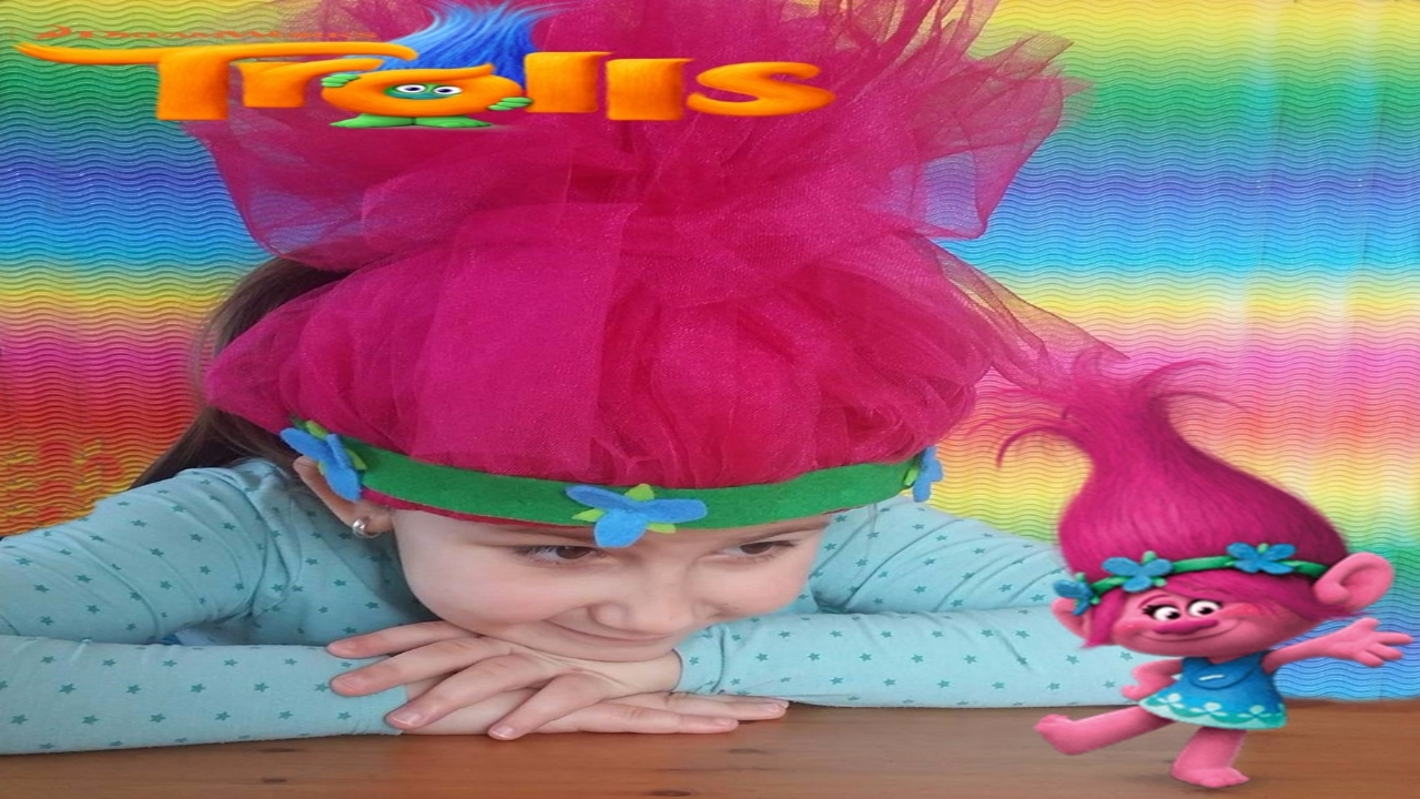 How To Make The Hair Of Princess Poppy From The Movie Trolls