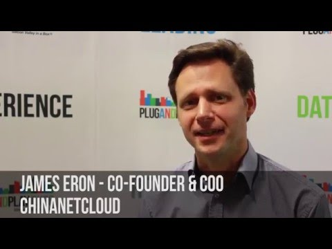 ChinaNetCloud's James Eron talks about his Shanghai based company!