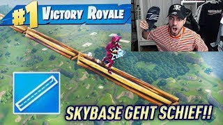 SKYBASE GEHT KOMPLETT SCHIEF in Fortnite Battle Royale !! 🔥😱