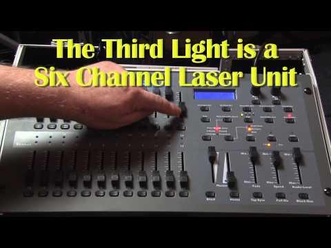 DMX LIGHTING FOR BEGINNERS - PART #1