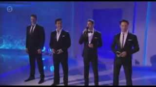 Il Divo in Tesco Mum of the Year Awards 2013