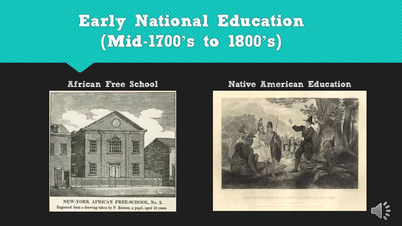 History of Education in the United States of America - YouTube