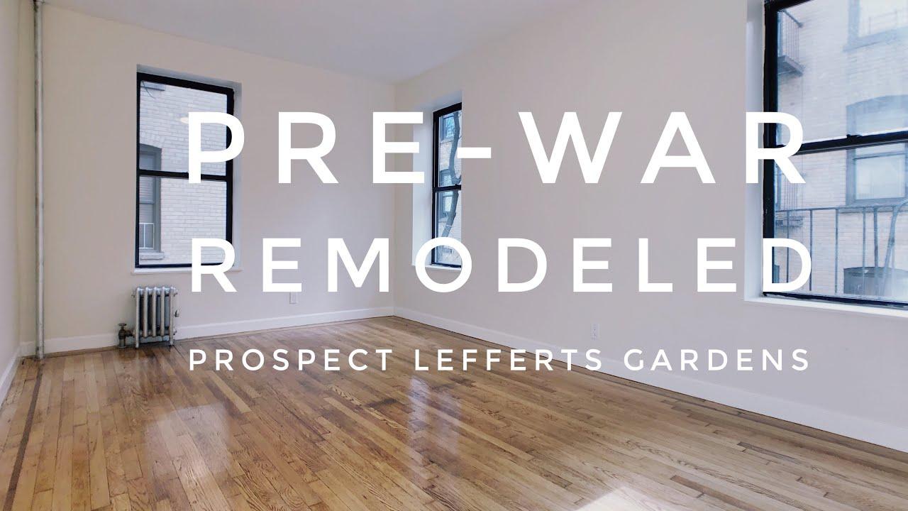 Pre War Large 1 Bedroom Apartment In Prospect Lefferts
