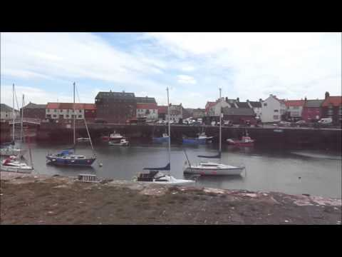 Dunbar Harbour, Part II, By Sheila, May 18th 2014