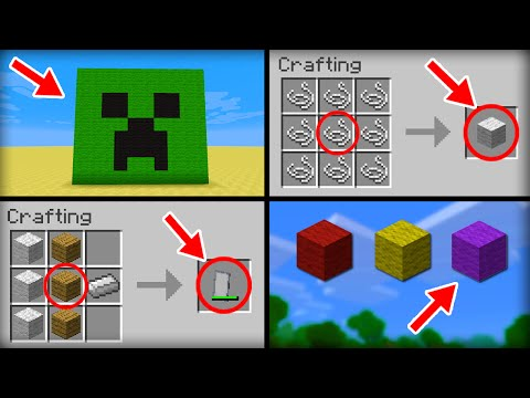 ✔ Minecraft: 10 Things You Didn't Know About Wool