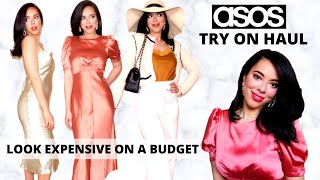 ASOS TRY ON HAUL : How to Look Expensive on a Budget + Feminine Fashion Tips