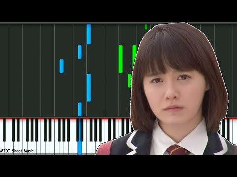 Boys Over Flowers - Starlight Tears Piano midi