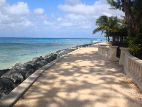 Barbados west coast boardwalk