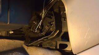 Регулювання троса заслінок опалювача на Mazda Demio