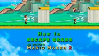 How to Escape Grabs in Mario Maker 2