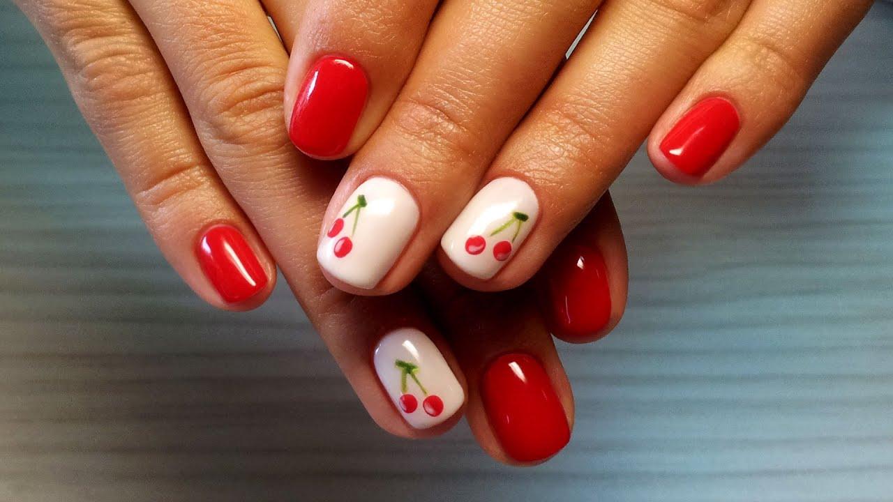 С несколькими лаками разных оттенков одного цвета можно создать градиентный простой дизайн ногтей для начинающих фото здесь дано как пример, вариантов может быть множество.
