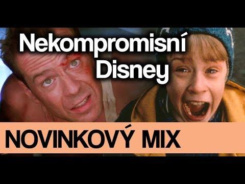 Novinkový mix: Disney ruší/restartuje, novinky kolem Venoma či DC crossover!