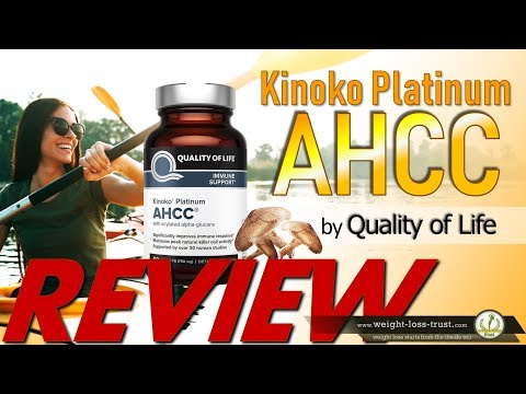 Review of Kinoko Platinum AHCC Supplement by Quality of Life