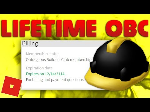 I GOT 100 YEARS OF OUTRAGEOUS BUILDERS CLUB! | A Roblox Story