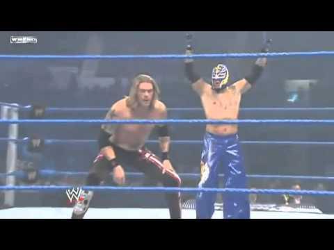 Edge  Rey Mysterio vs Alberto Del Rio  Kane (WWE Smackdown 31122010)