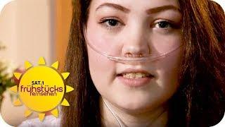 Organspende: Josephine (20) braucht eine neue Lunge | SAT.1 Frühstücksfernsehen | TV