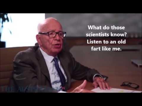 Rupert Murdoch on Global Warming
