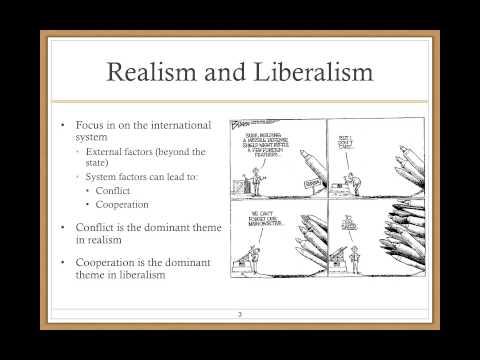 Realism & Liberalism
