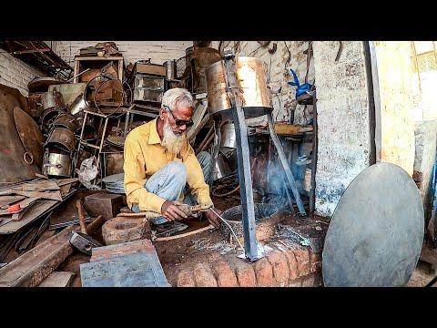 Amazing Stove Making at a Roadside Workshop