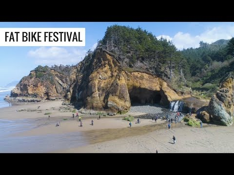 Fat Bike Festival Cannon Beach Oregon