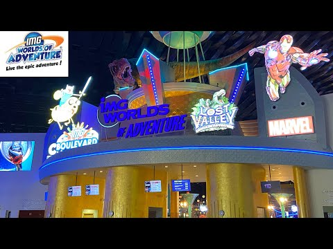 IMG Worlds of Adventure | The World's Largest Indoor Theme Park in Dubai
