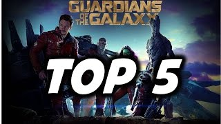 Guardians of the Galaxy: Top 5 Changes from the Comics