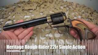 Heritage Rough Rider Johnny Boy 22lr Single Action Army Revolver Overview - Texas Gun Blog