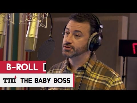 THE BOSS BABY Voice Cast B-roll - Behind The Scenes 2017