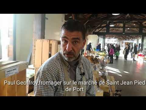 Le marché de Saint-Jean-Pied-de-Port à l'honneur