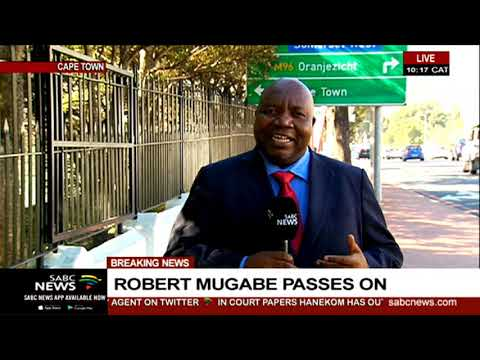 Robert Mugabe I President Mnangagwa leaves WEFA for Zimbabwe