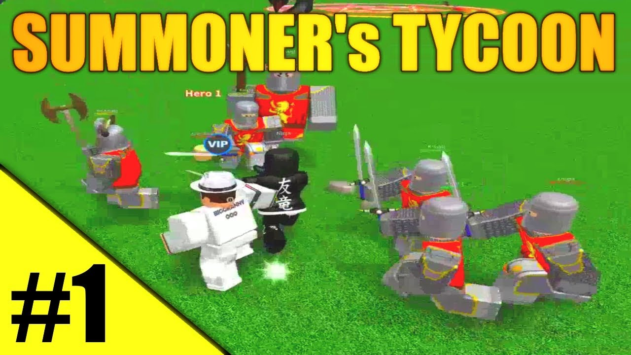 codes for roblox summoner tycoon