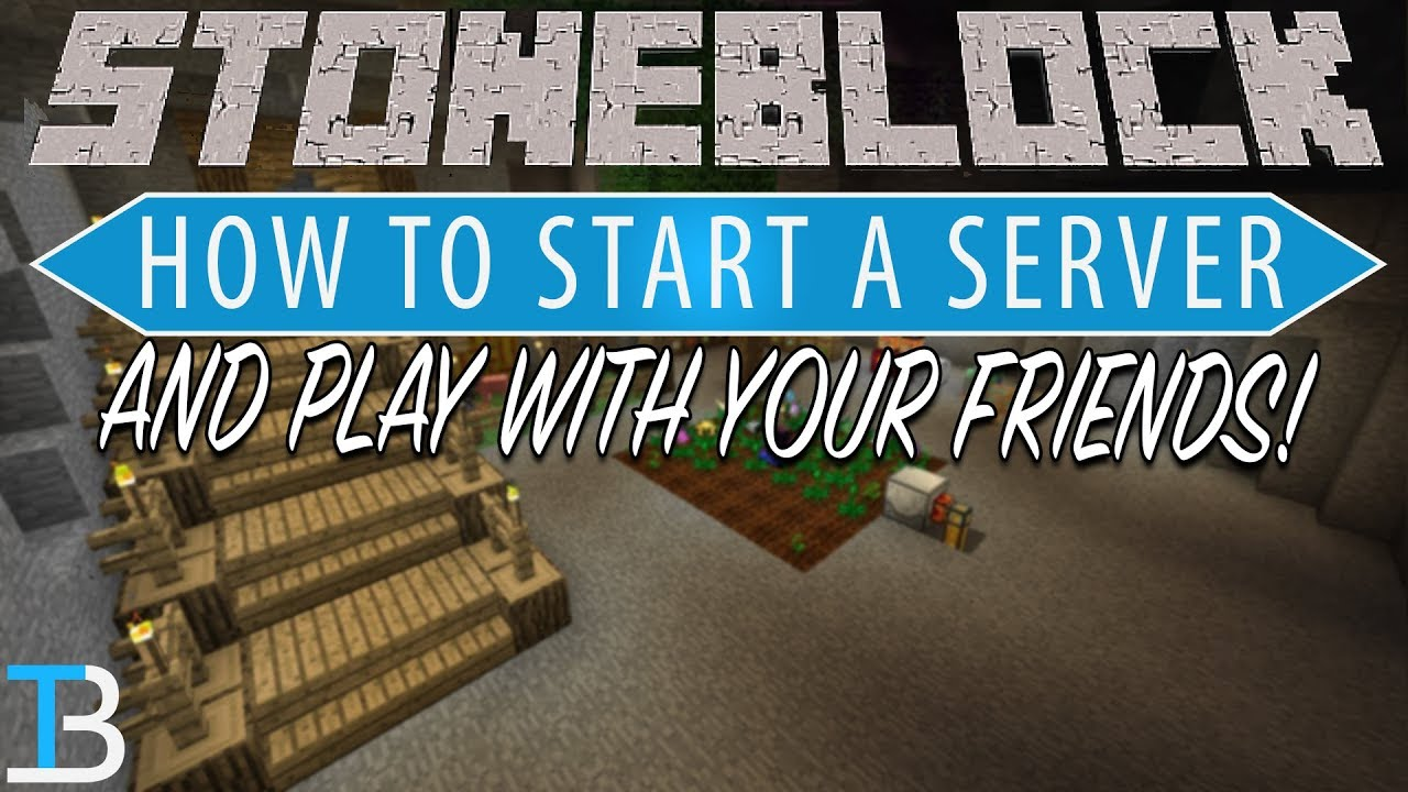 How To Make A StoneBlock Server (Play StoneBlock with Your Friends!)
