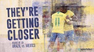 Brazil v Mexico - FIFA World Cup Highlights - FIFA 18