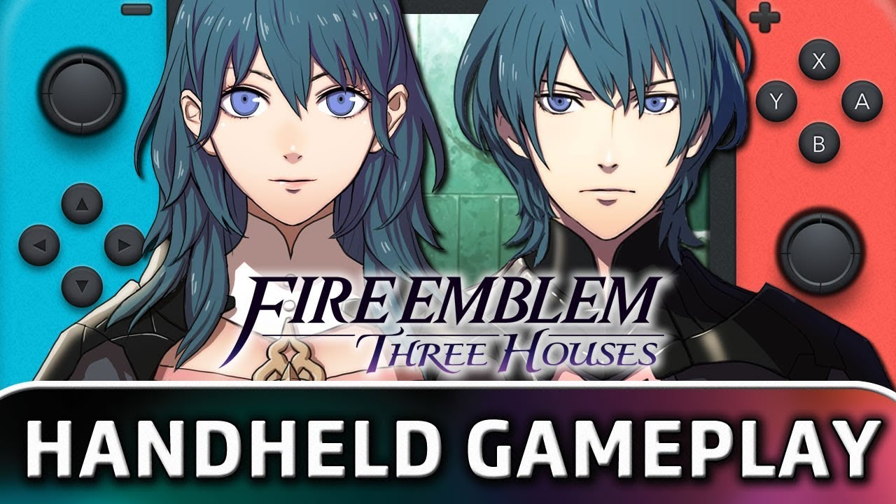 Fire Emblem: Three Houses | First 20 Minutes in Handheld MODE on Nintendo Switch