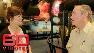 Amateur astronomer Trevor Barry visits NASA, his