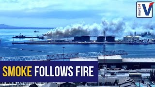WATCH: Trawler smoulders week after fire at Cape Town harbour