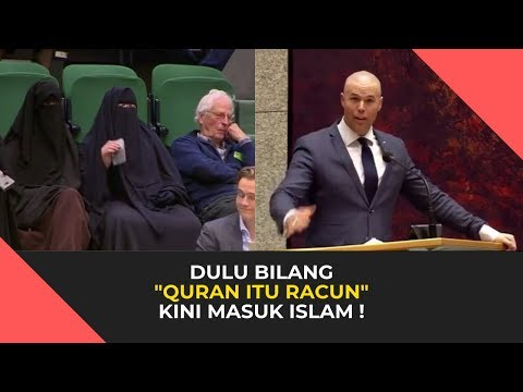 Joram Van Klaveren 💥 Mantan Anggota Parlemen Belanda Pembenci Islam Itu Kini Mualaf - Sub Indonesia