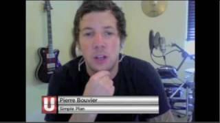 Musique Plus video chat with Pierre Bouvier