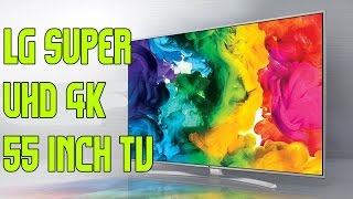 LG  55 inch Super UHDTV  4K 55UH77 Smart TV with magic remote Unboxing and Setup
