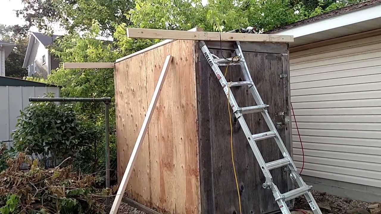 Charmant How To Build A Free Garden/Tool Shed! DIY Pallet Shed.   YouTube