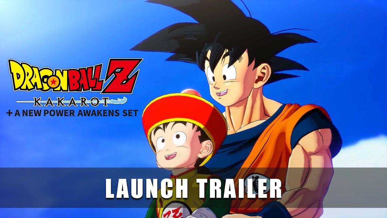DRAGON BALL Z: KAKAROT + A New Power Awakens Set - Launch Trailer