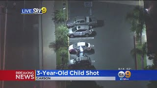 3-Year-Old Shot In Carson, Driven To Hospital By Sheriff's Deputies