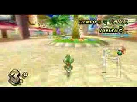 Mario Kart Wii - Coconut Mall (150cc)