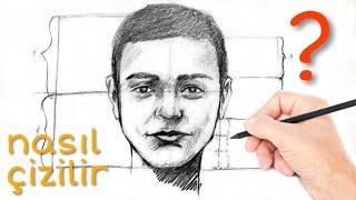 portre yüz çizimi nasıl yapılır