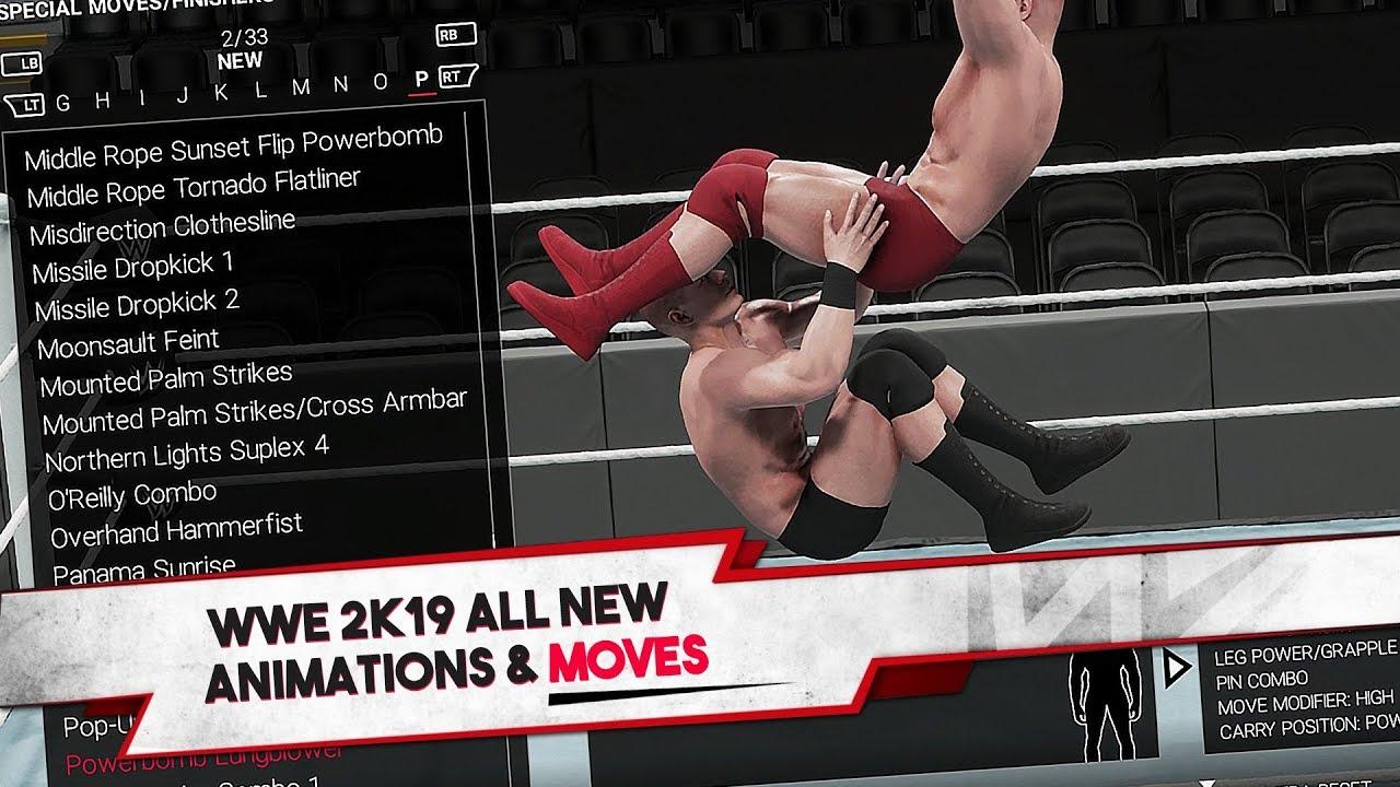 WWE 2K19 Universe Mode Info & New Moves (Videos) - Wrestlezone