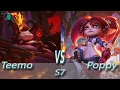 League of Legends - Devil Teemo vs Poppy - S7 Ranked Gameplay (Season 7)