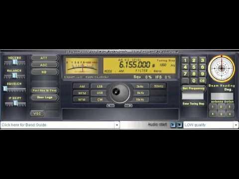 ALL INDIA RADIO - Urdu Service on 6155 kHz (Reception in Canada)