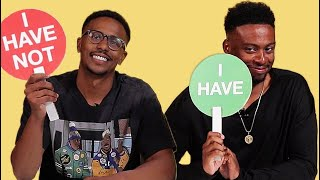 Black Siblings Play Never Have I Ever