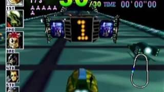 F-Zero X - N64 Gameplay